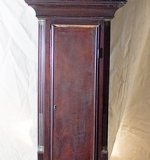 19th C. Aaron Willard Federal Tall Clock with Painted Phases-of-the-Moon Dial. $20,060
