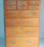Pennsylvania Chippendale Tall Chest. $11,800