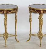 Pr. Louis XVI-style Occasional Tables. $4,956