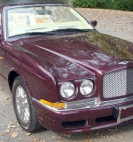 2000 Bentley Azure convertible from the Estate of Butch Lewis, boxing promoter. $62,540