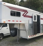 4 Star Gooseneck 22-foot Horse Trailer. $29,500