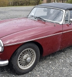 1973 MG MGB Convertible. $8,732