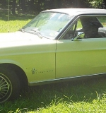 1967 Ford Mustang. $6,372