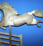 Rare Flying Horse Weathervane, A.L. Jewel Co., Waltham, MA. $49,450