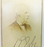 Autographed Robert E. Lee Carte de Visite with Alexander Gardner stamp. $5,082