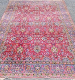 Kirman Carpet: 15ft 6in. x 11ft. 2in. $2,242