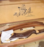 Fred Bear Signature Recurve Bow in Case, #72. $3,335