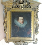 17th C. Dutch School Oil/Canvas, Portrait of a Gentleman. $13,310