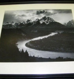 Ansel Adams photograph, Grand Tetons, and Snake River, Wyoming. $11,210