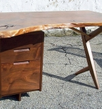 George Nakashima Walnut Conoid Desk. $19,500