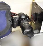Canon EOS 5D Mark III Camera with Lens, in box. $1,495