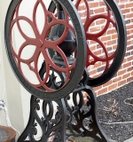 The Towne House Collection: Enterprise Cast Iron Floor-standing Coffee Grinder. $1,495