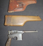"German WWI ""Red 9"" Mauser C96. $1,495"