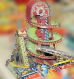 Japanese wind-up marble shooter toy. $920