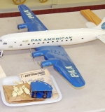Marx pressed-steel Pan American Airlines airplane with original box. $718