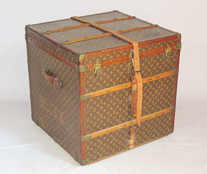 Early 20th C. Louis Vuitton Steamer Trunk, #745732. $11,210