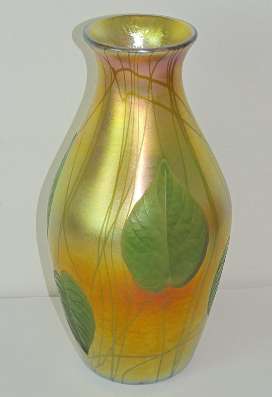 Tiffany Studios Baluster-Form Favrile Glass Vase. $4,956