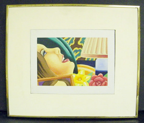 Tom Wesselmann Oil/canvas, Study for Bedroom Painting, 1977. $116,150
