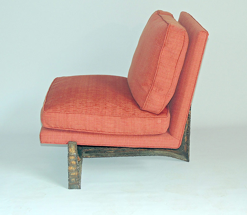 Rare Paul Evans (1931-1987) Lounge Chair, circa 1970s. $14,160