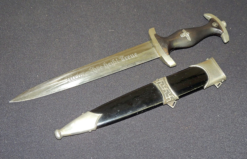 German WWII SS Dagger w/documentation. $1,495