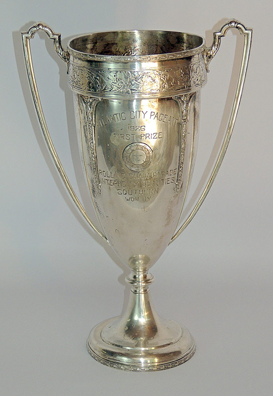 1926 Miss America Trophy. Marked Wallace Bros.. $1,652
