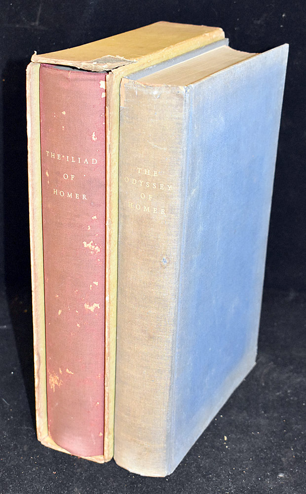 27. The Odyssey & The Illiad, Ltd. Ed. Club, 1931. $47.20