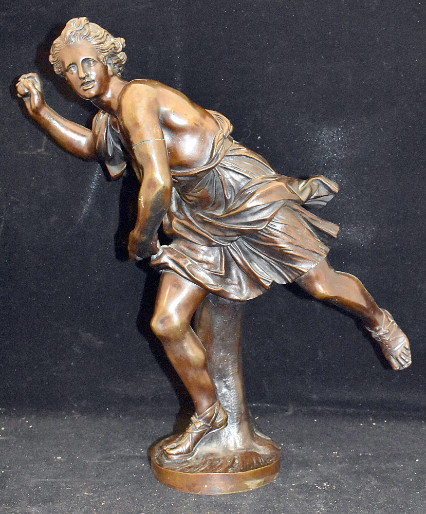35. Susse Freres Bronze Sculpture of a Man. $295