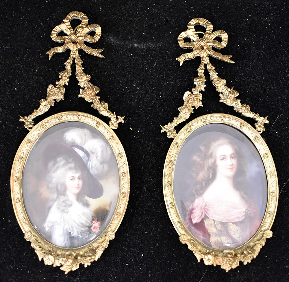 52. Two 19th Century Miniature Portraits. $338.25