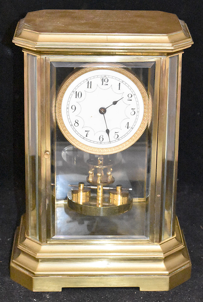 66. Crystal Regulator Mantel Clock. $649