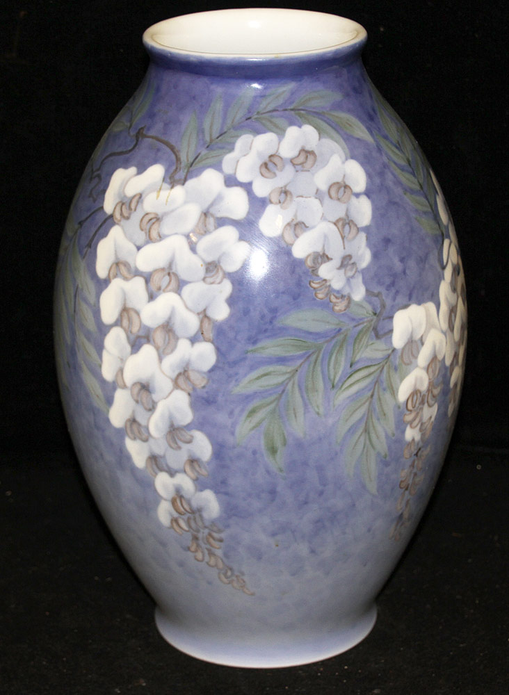 94. Jenny Meyer/Royal Copenhagen Porcelain Vase. $522.75