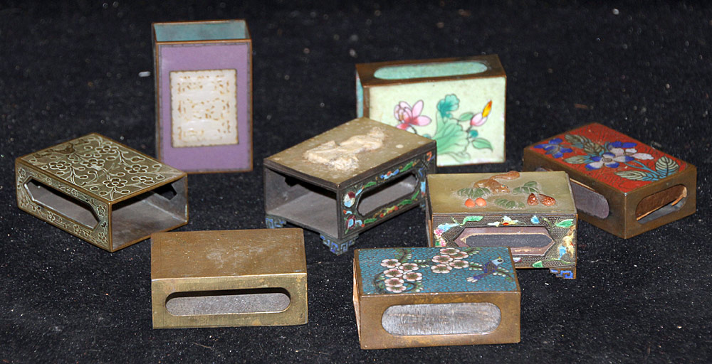 135. Eight Chinese Matchbox Covers. $369