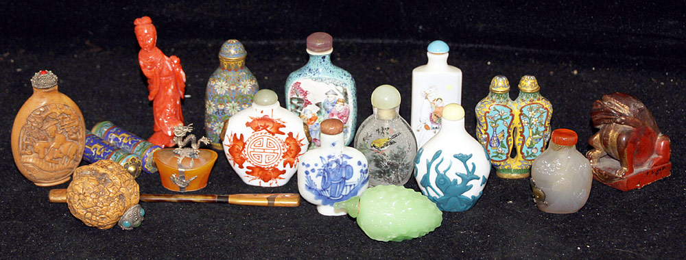 143. Grouping of Chinese Miniatures. $1,045.50