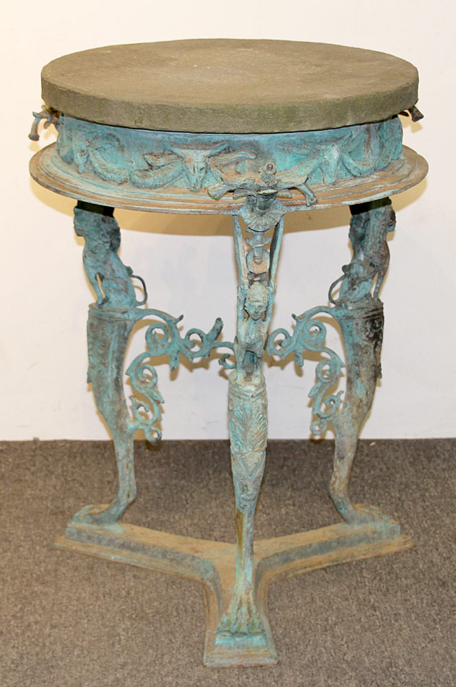 159. Bronze Garden Table. $708