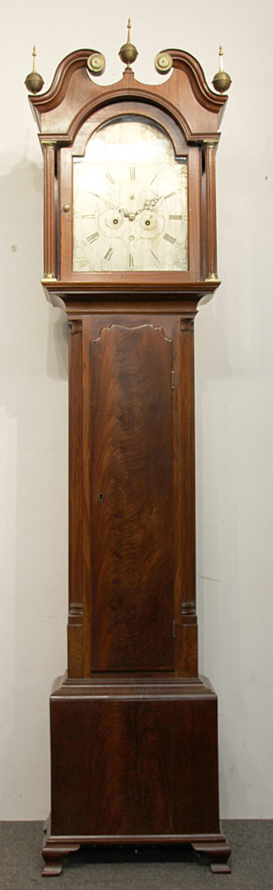 174. John Scott 18th C. Scottish Tall Case Clock. $1,062