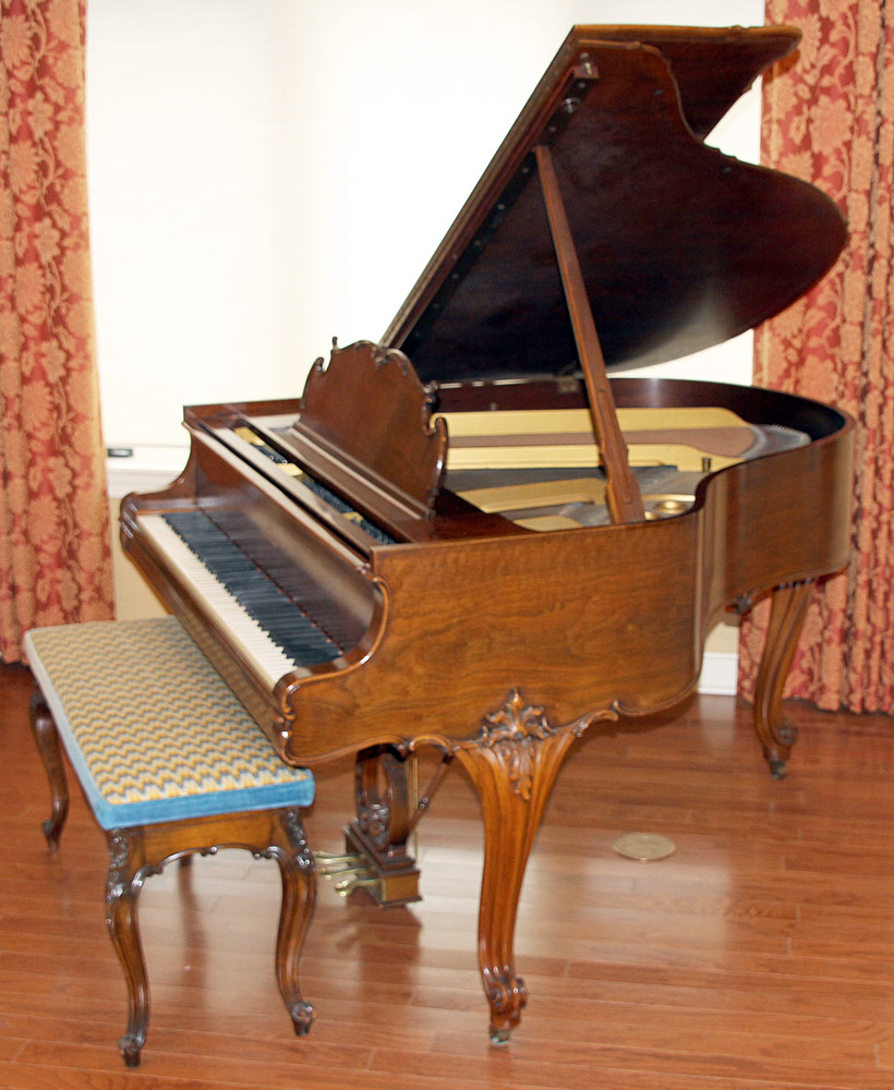 182. Steinway French Case Baby-Grand Piano, #285768. $14,160