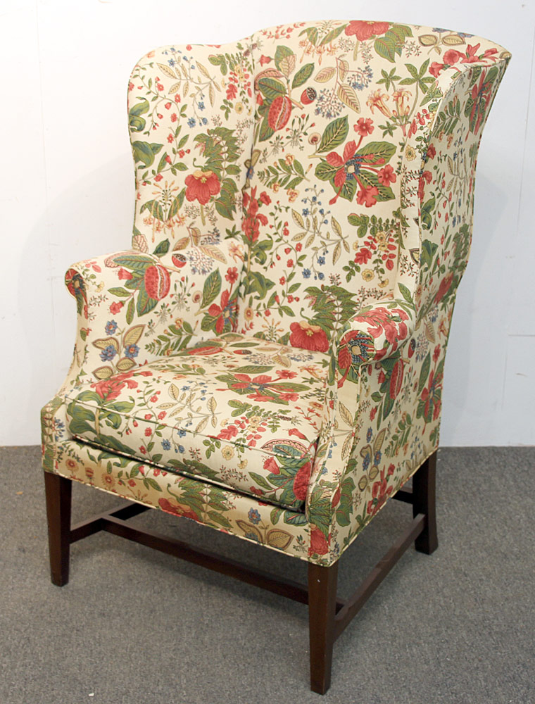 185. Kittinger Williamsburg Adaptation Wing Chair, WA 1047. $215.25