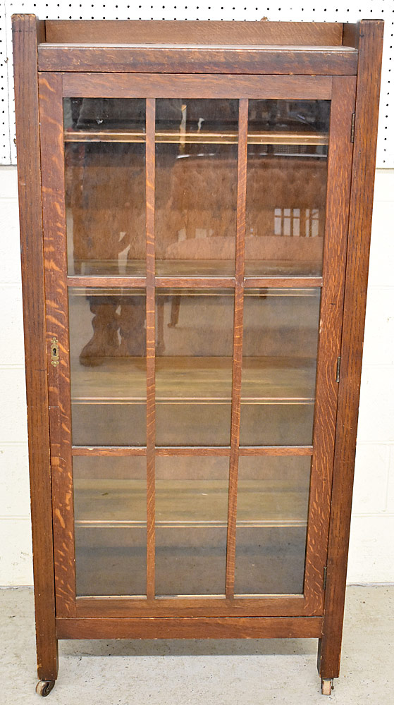 249. Stickley Bros. Arts & Crafts Oak Bookcase. $984.00
