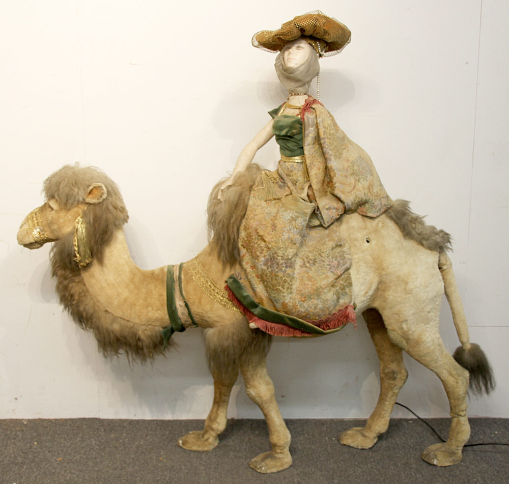 273. Large Automaton, Camel with Rider. $369