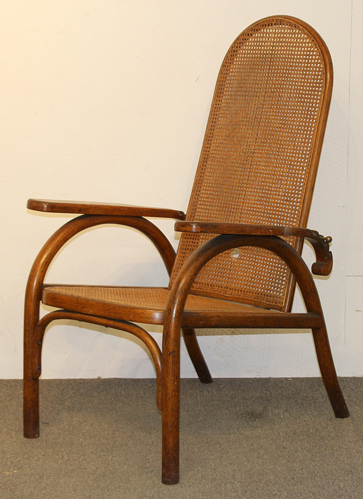 312. Unusual Thonet Morris Chair. $442.50