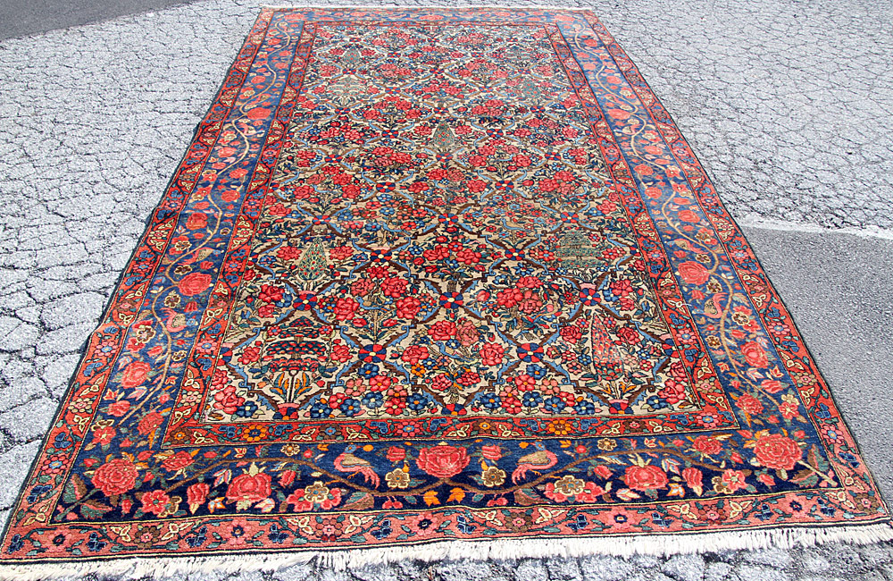 "373. Persian Room-size Carpet, 14\' x 7\'7"". $2,006"
