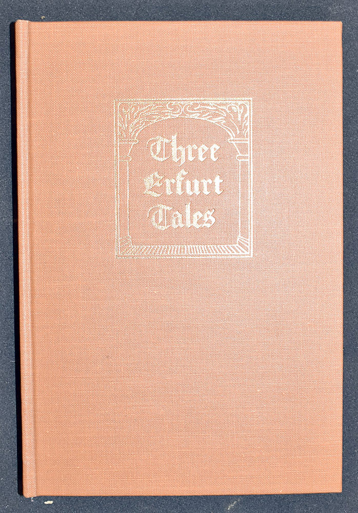 29. Price/Rosenwald, Three Erfurt Tales. $36.90