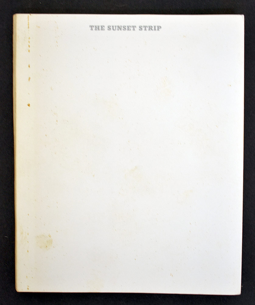 42. Edward Ruscha, Every Building on the Sunset Strip. $1,476.