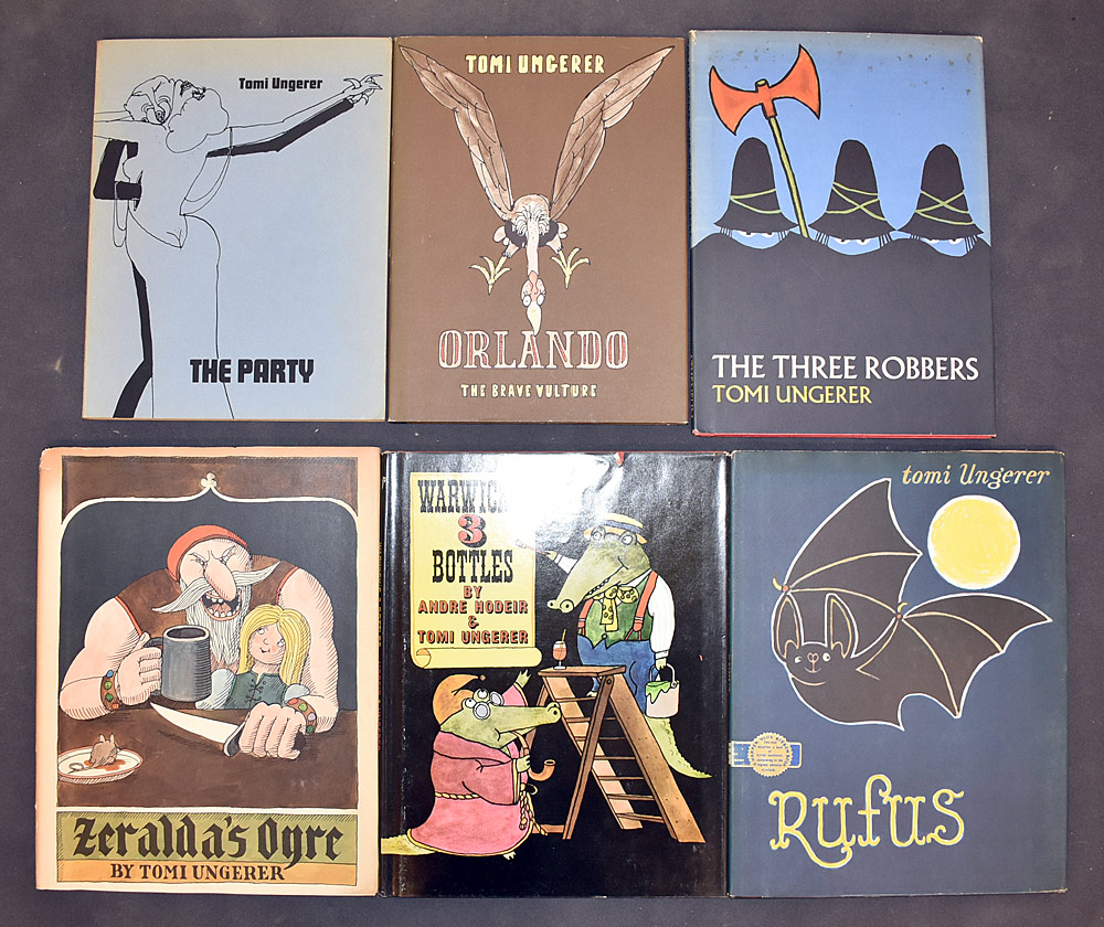 58. Six Tomi Ungerer Books. $86.10