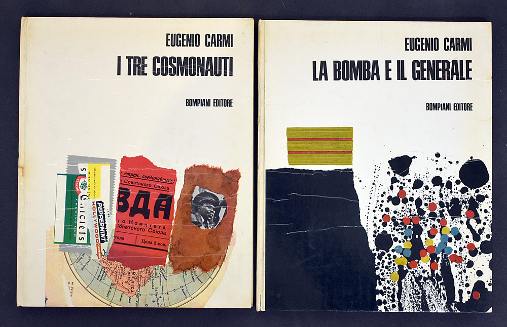 64. Two Eugenio Carmi Books. $73.80