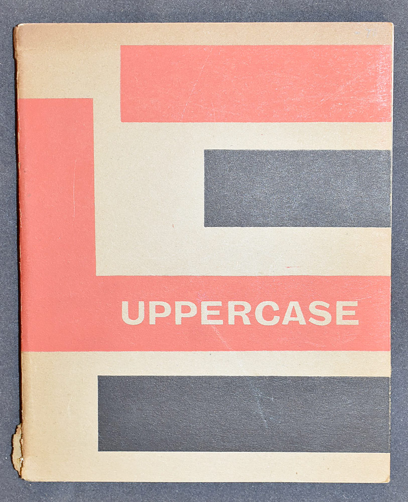 68. Uppercase No. 1, Ed. by Theo Crosby. $1,814.25