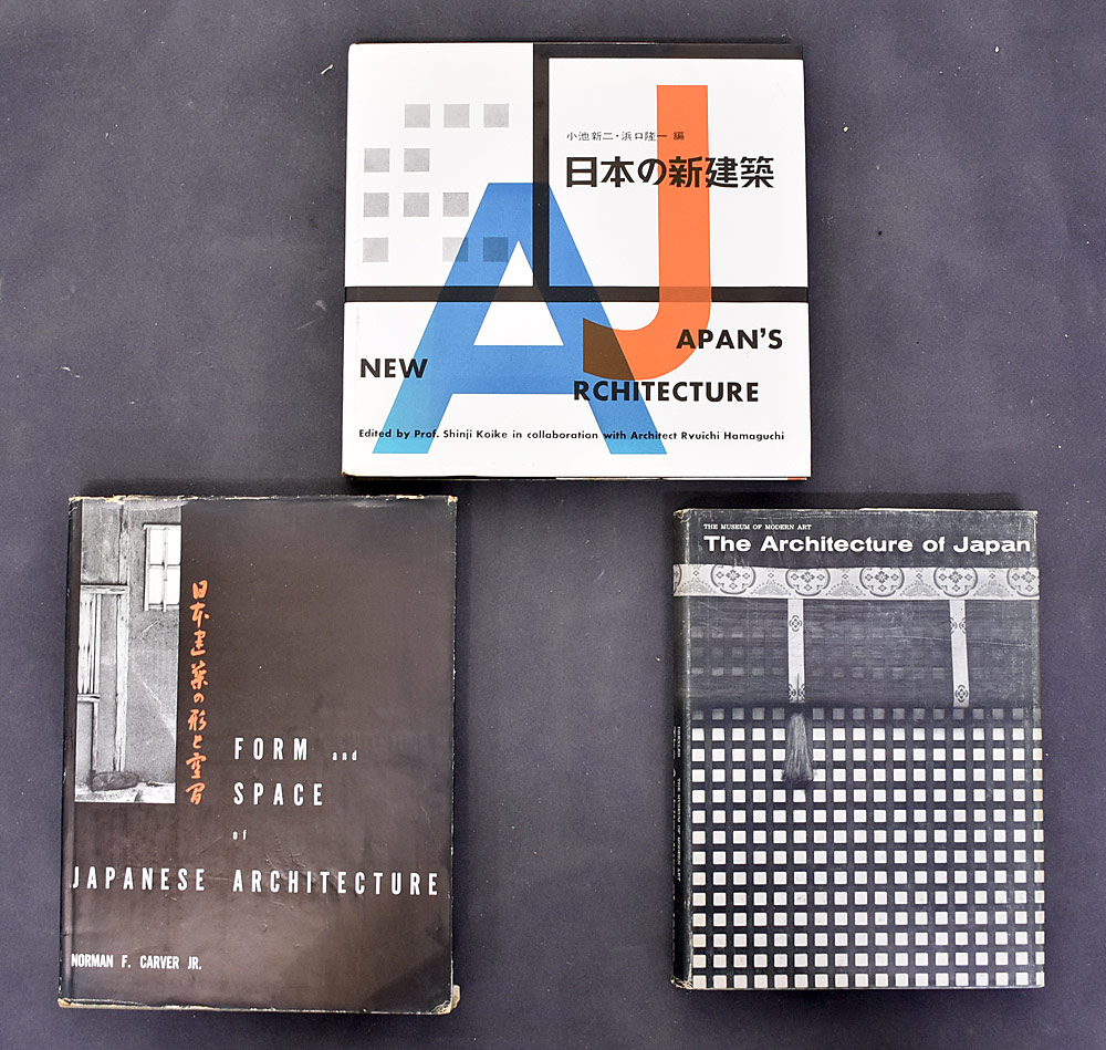 81. Three Japanese Architecture Books.	$215.25