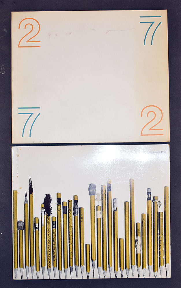 83. Two Volumes, 27 Chicago Designers. $24.60