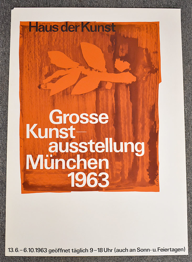 101. Great German Art Exhibition Poster. $36.90