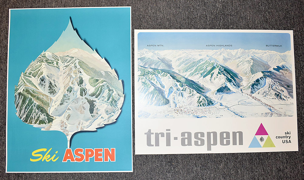 106. Two Aspen Posters. $307.50