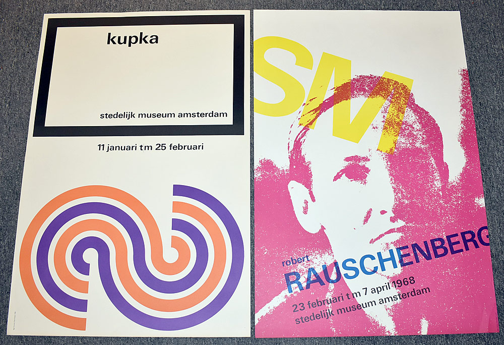136. Two Stedelijk Museum Exhibition Posters. $276.75